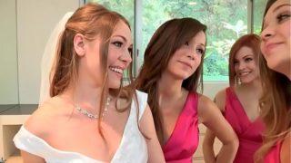 Lesvianas follando en mi boda